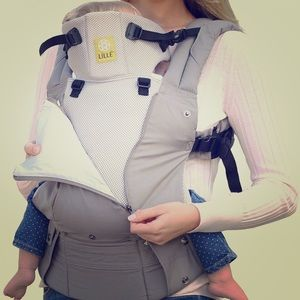 LILLIEbaby all season baby carrier